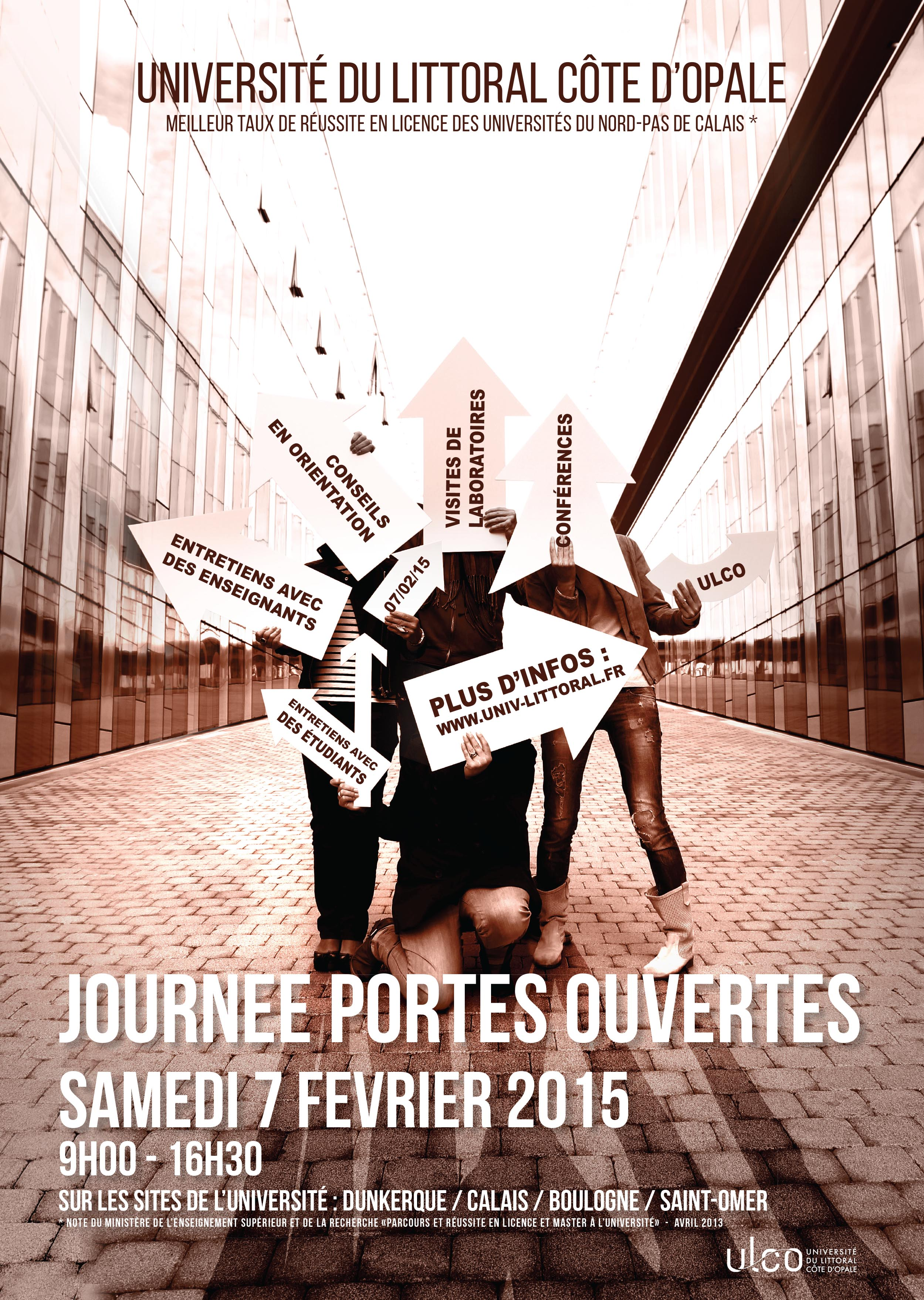 Affiche Journée Portes Ouvertes 2015